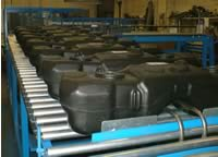 fuel tank roller conveyor