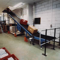 mezzanine floor belt conveyor PR01